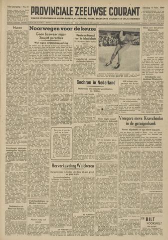 Provinciale Zeeuwse Courant 1949-02-08