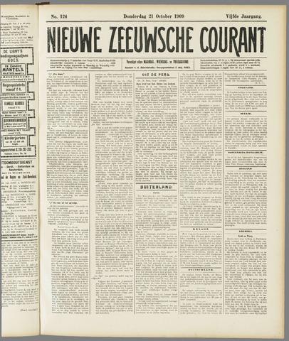 Nieuwe Zeeuwsche Courant 1909-10-21