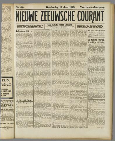 Nieuwe Zeeuwsche Courant 1918-06-13