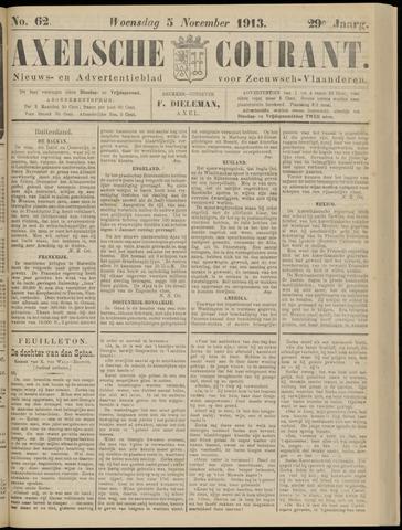 Axelsche Courant 1913-11-05