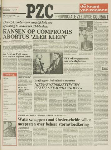 Provinciale Zeeuwse Courant 1977-08-18