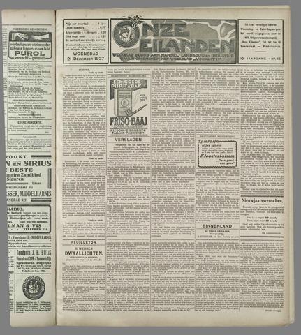 Onze Eilanden 1927-12-21