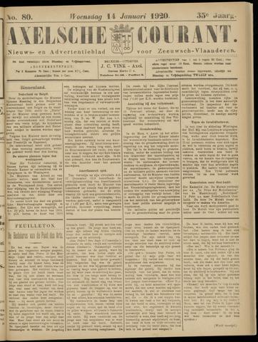 Axelsche Courant 1920-01-14