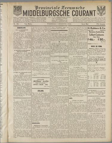 Middelburgsche Courant 1932-08-03