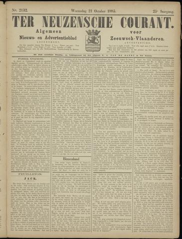 Ter Neuzensche Courant. Algemeen Nieuws- en Advertentieblad voor Zeeuwsch-Vlaanderen / Neuzensche Courant ... (idem) / (Algemeen) nieuws en advertentieblad voor Zeeuwsch-Vlaanderen 1885-10-21