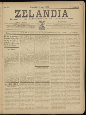 Zelandia. Nieuws-en advertentieblad voor Zeeland | edities: Het Land van Hulst en De Vier Ambachten 1902-04-02