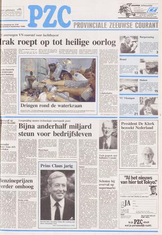 Provinciale Zeeuwse Courant 1990-09-06