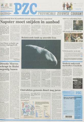 Provinciale Zeeuwse Courant 2001-02-13
