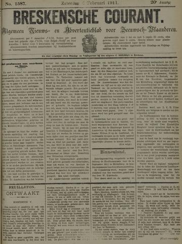 Breskensche Courant 1911-02-04