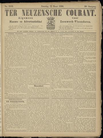 Ter Neuzensche Courant. Algemeen Nieuws- en Advertentieblad voor Zeeuwsch-Vlaanderen / Neuzensche Courant ... (idem) / (Algemeen) nieuws en advertentieblad voor Zeeuwsch-Vlaanderen 1890-03-22
