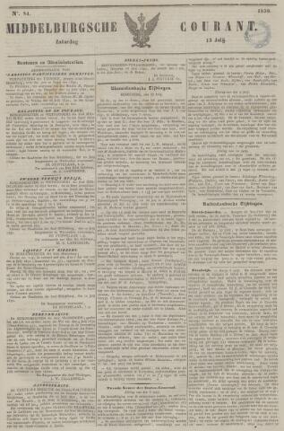 Middelburgsche Courant 1850-07-13