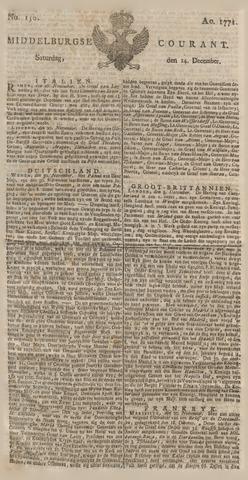 Middelburgsche Courant 1771-12-14