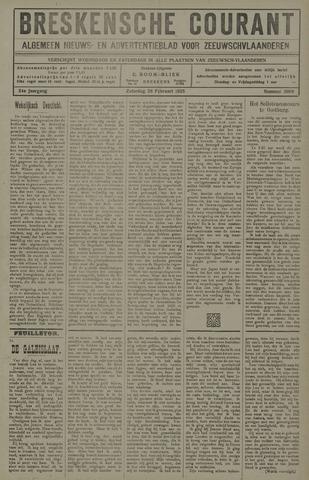 Breskensche Courant 1925-02-28