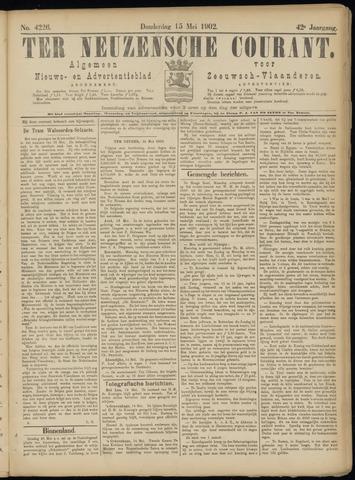 Ter Neuzensche Courant. Algemeen Nieuws- en Advertentieblad voor Zeeuwsch-Vlaanderen / Neuzensche Courant ... (idem) / (Algemeen) nieuws en advertentieblad voor Zeeuwsch-Vlaanderen 1902-05-15