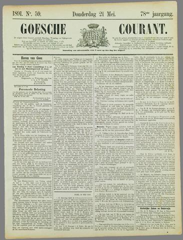 Goessche Courant 1891-05-21