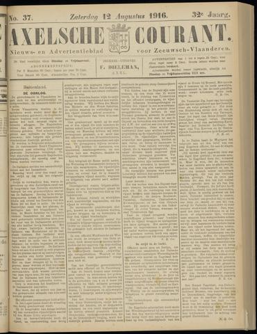 Axelsche Courant 1916-08-12