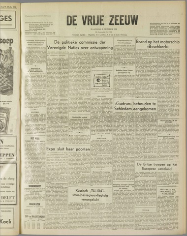 de Vrije Zeeuw 1958-10-20