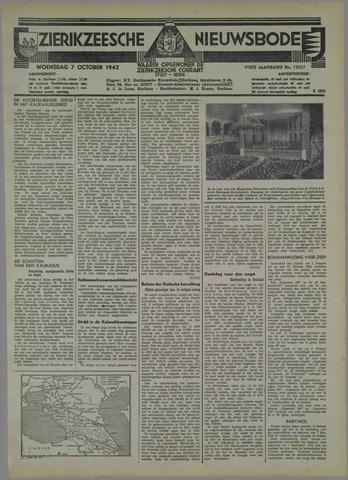 Zierikzeesche Nieuwsbode 1942-10-07