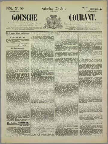 Goessche Courant 1887-07-30