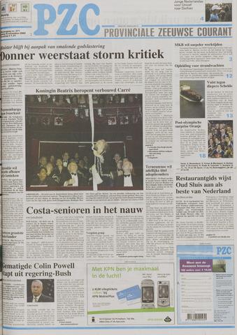 Provinciale Zeeuwse Courant 2004-11-16