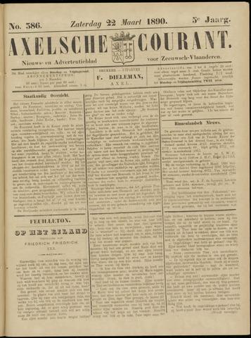 Axelsche Courant 1890-03-22