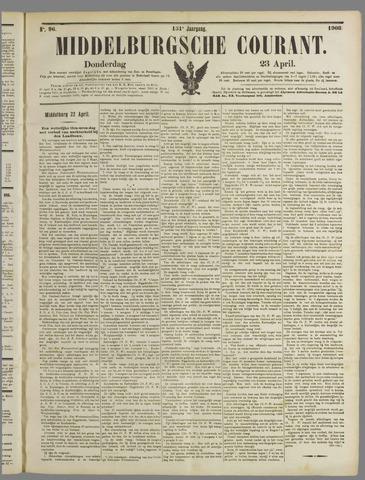 Middelburgsche Courant 1908-04-23