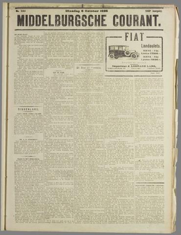 Middelburgsche Courant 1925-10-06