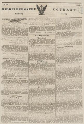 Middelburgsche Courant 1844-07-18