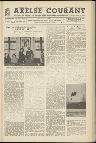 Axelsche Courant 1962-04-21