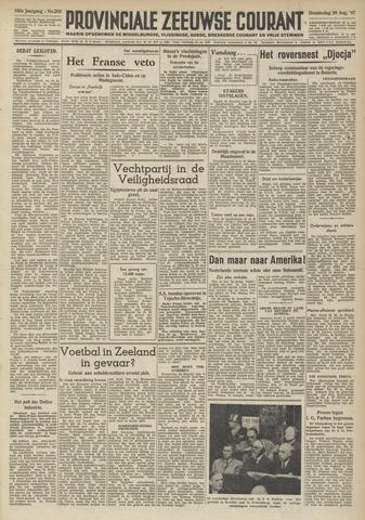 Provinciale Zeeuwse Courant 1947-08-28