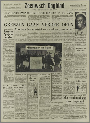 Zeeuwsch Dagblad 1959-11-12