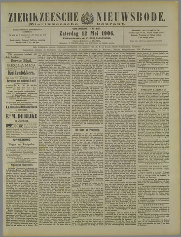 Zierikzeesche Nieuwsbode 1906-05-12