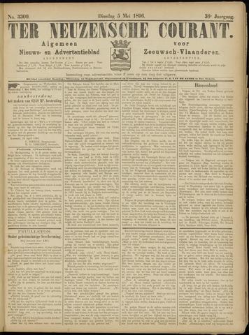 Ter Neuzensche Courant. Algemeen Nieuws- en Advertentieblad voor Zeeuwsch-Vlaanderen / Neuzensche Courant ... (idem) / (Algemeen) nieuws en advertentieblad voor Zeeuwsch-Vlaanderen 1896-05-05