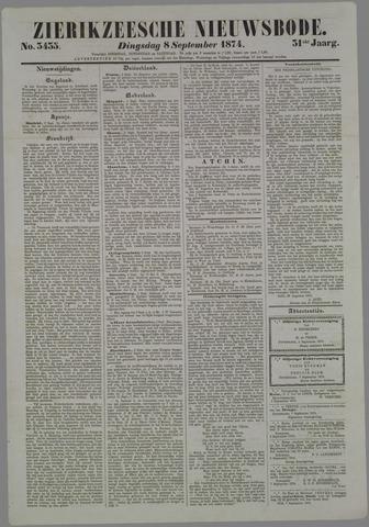 Zierikzeesche Nieuwsbode 1874-09-08