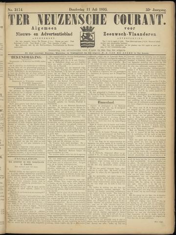 Ter Neuzensche Courant. Algemeen Nieuws- en Advertentieblad voor Zeeuwsch-Vlaanderen / Neuzensche Courant ... (idem) / (Algemeen) nieuws en advertentieblad voor Zeeuwsch-Vlaanderen 1895-07-11