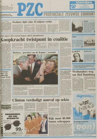 Provinciale Zeeuwse Courant 1993-04-21