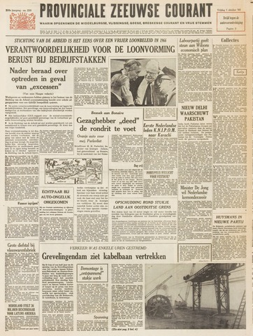Provinciale Zeeuwse Courant 1965-10-01