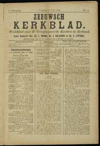 Zeeuwsche kerkbode, weekblad gewijd aan de belangen der gereformeerde kerken/ Zeeuwsch kerkblad 1903-07-10