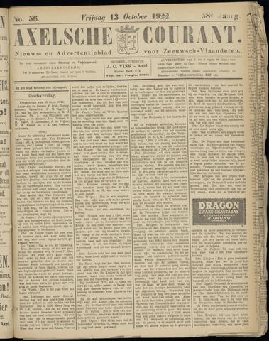 Axelsche Courant 1922-10-13