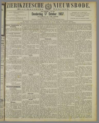 Zierikzeesche Nieuwsbode 1907-10-17