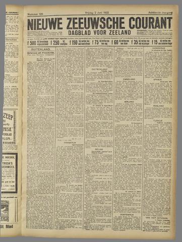 Nieuwe Zeeuwsche Courant 1922-06-02