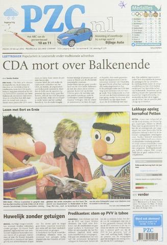 Provinciale Zeeuwse Courant 2010-02-26