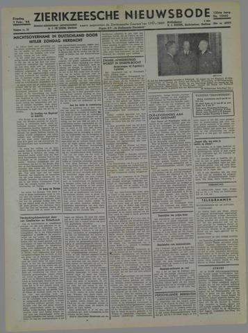 Zierikzeesche Nieuwsbode 1944-02-01