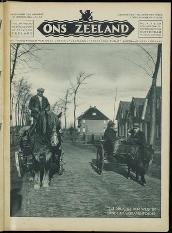 Ons Zeeland / Zeeuwsche editie 1934-01-19