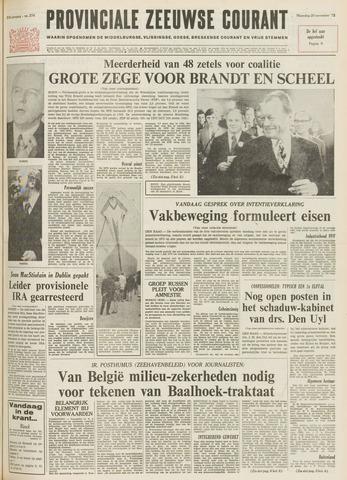 Provinciale Zeeuwse Courant 1972-11-20