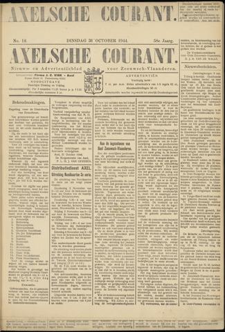 Axelsche Courant 1944-10-31