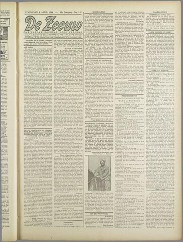 De Zeeuw. Christelijk-historisch nieuwsblad voor Zeeland 1944-04-05