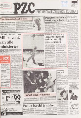 Provinciale Zeeuwse Courant 1988-11-03