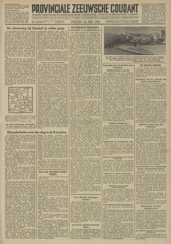 Provinciale Zeeuwse Courant 1942-05-22