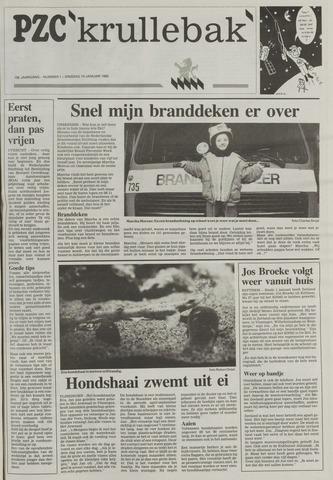 Provinciale Zeeuwse Courant katern Krullenbak (1981-1999) 1995-01-10